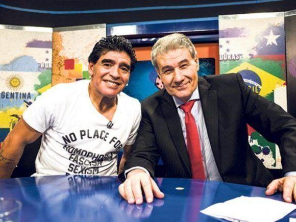 8faea04bb Diego Maradona y Víctor Hugo harán un programa juntos en el Mundial ...