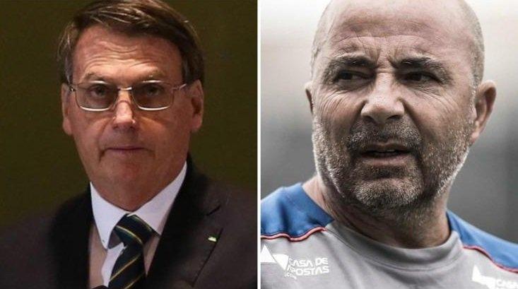 Sampaoli le negó el saludo a Bolsonaro y explicó por qué lo hizo