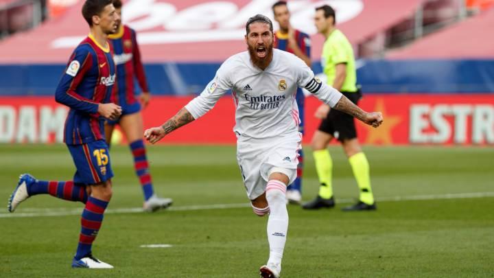 Real Madrid le ganó por 3-1 al Barcelona