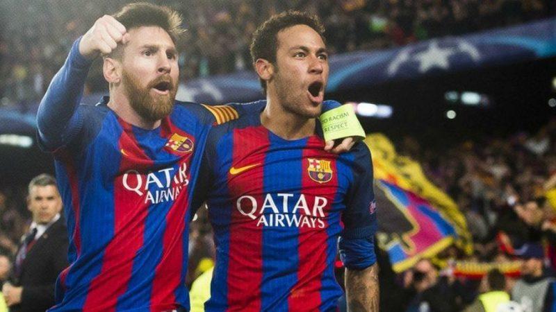 El mensaje de Neymar a Messi que generó conmoción en el mundo del fútbol