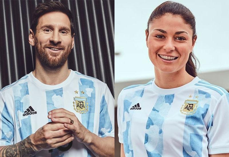 Se viene la Copa América: Conocé la nueva camiseta de la Selección Argentina