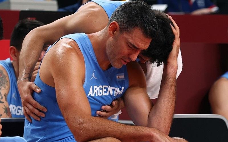 La selección argentina de básquet se despidió de Tokio y de Luis Scola